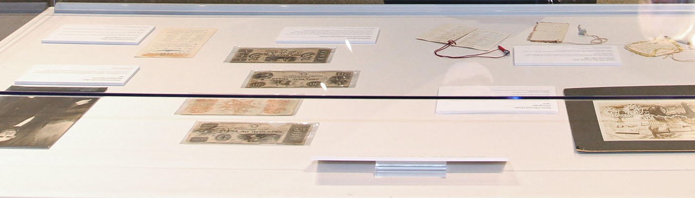 Archives and Special Collections Display Case